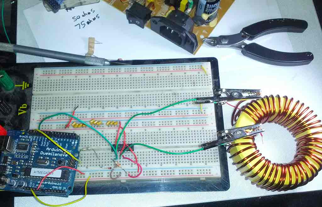 Inductance Meter Using Arduino Circuit Diagram And Code