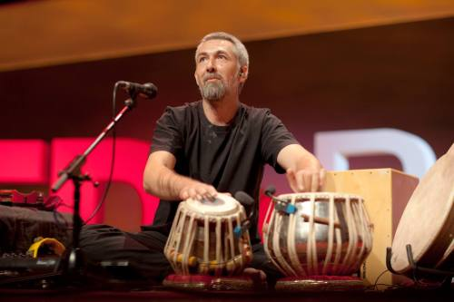 Jon Sterckx tabla, percussion & Samswara Indian Music. Stroud & Devon UK.