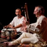 Samswara - Sitar & Tabla duo @ Rich Mix, London. Photo: Joe D Miles