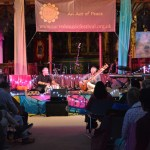 Samswara sitar & tabla duo at Stroud Sacred Music Festival 2017