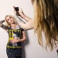 Model Erin Kennedy and Peepshow Designer Jessica Nicole