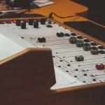 Vintage recording console