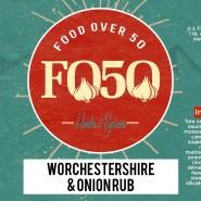 Food Over 50 spice bottle label