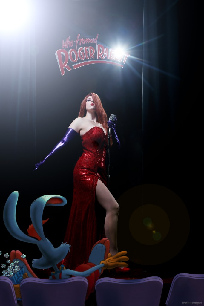 Jessica Rabbit cosplay Digital Art