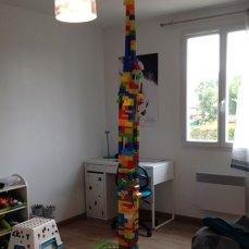 Heureusement que les enfants n'avaient plus de Mega Bloks...