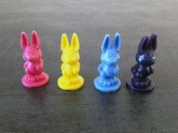 Pour jouer, vous avez le choix entre plusieurs couleurs de lapins.
