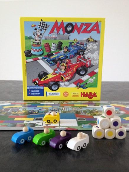 Le jeu de société Monza