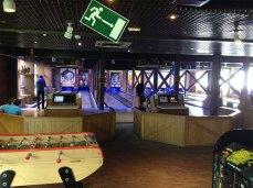 les pistes de bowling