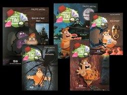 la collection Tiki Preston des éditions de Mortagne
