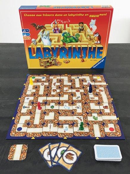 le jeu labyrinthe de Ravensburger
