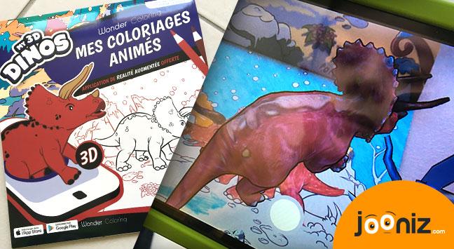 wonder coloring my 3d dinos