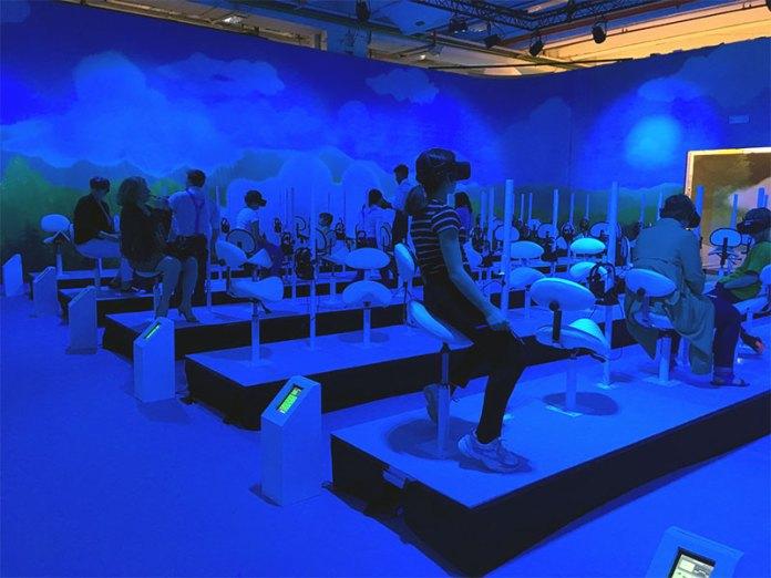 schtroumpf expérience réalité virtuelle