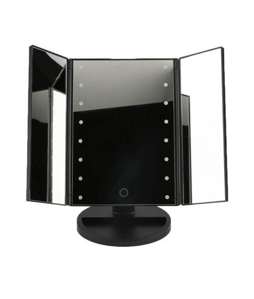2017-Portable-Three-Folding-Table-LED-Lamp-Luminous-Makeup-Mirror-Cosmetic-Mirror-Adjustable-Tabletop-Countertop-Light