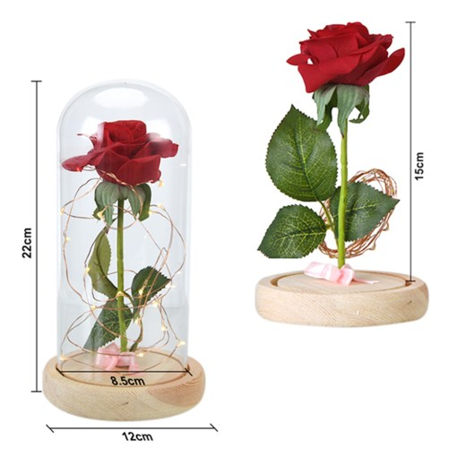 Beauty-and-the-Beast-Red-Rose-in-a-Glass-Dome-on-a-Wooden-Base-for-Valentine-9.jpg