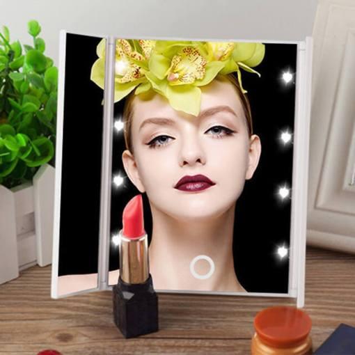 LED-Lights-Makeup-Mirror-3-Folding-Cosmetic-Tabletop-Beauty-Vanity-Mirror-Adjustable-Countertop-Light-Mirror-New.jpg_640x640
