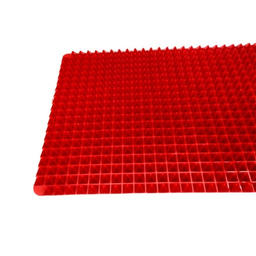 Non-Stick-Heat-Resistant-Raised-Pyramid-Shaped-Silicone-Baking-Roasting-Mats-16-Inches-X-11-5 (2)