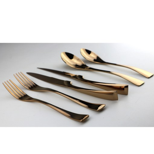 6Pcs-Lot-Rose-Gold-Cutlery-Set-18-10-Stainless-Steel-Dinnerware-Set-Knife-Scoops-Silverware-Set (2)
