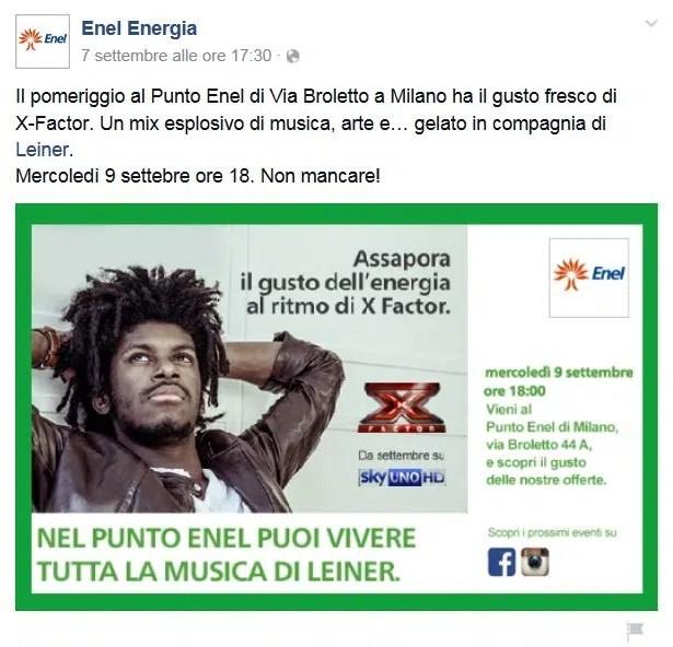 EnelEnergia-X-Factor-Leiner-Milano