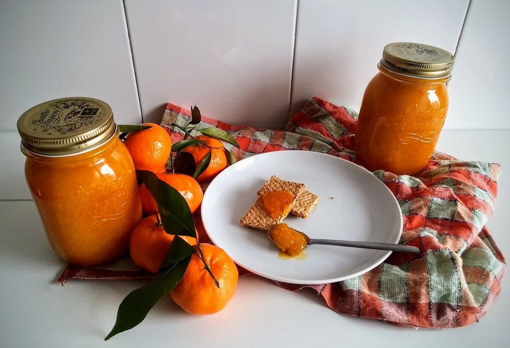 Marmellata di mandarini Tardivo di Ciaculli detto marzuddu