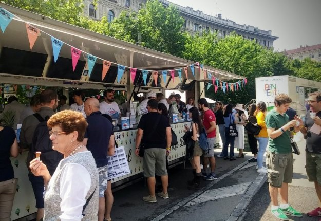Gelato Festival Europa 2018 a Milano, sabato mattina