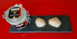 Sorbetto di foie gras