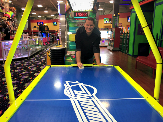tilt travis air hockey
