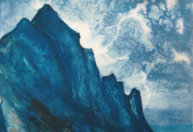 Jøran Flo litografi – Lofoten II