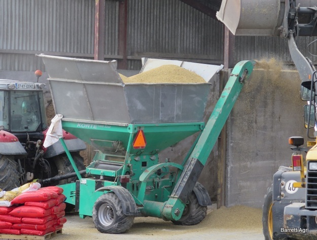 Grain been treated with Maxammon