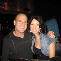 Jordan Lampert with Daphne