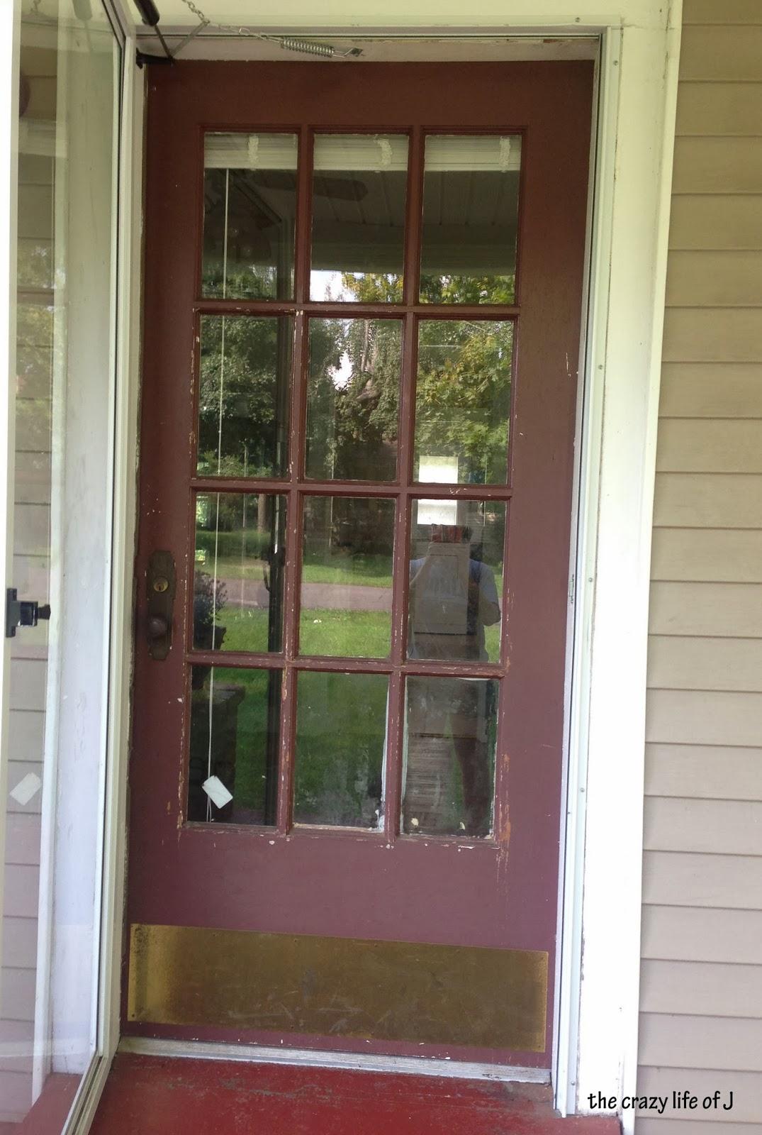 Painting The Front Door Red Jordan Marie Powers