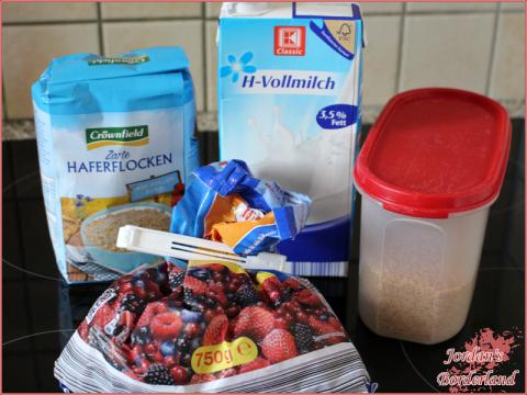 Waldfrucht Porridge
