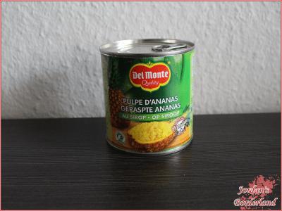 Del Monte Ananas geraspelt