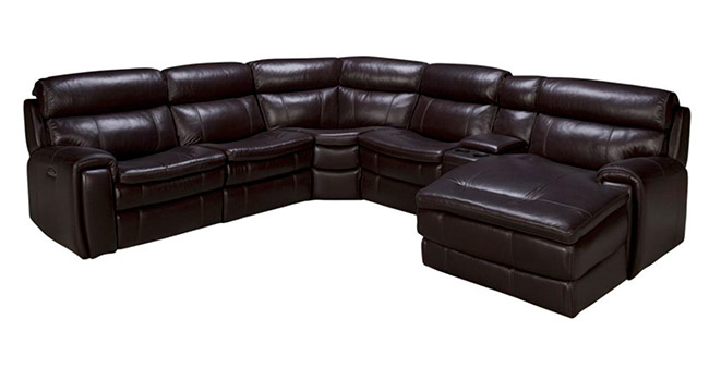 htl furniture branson leather power