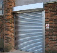 Steel Roller Shutters category page & drop down pic