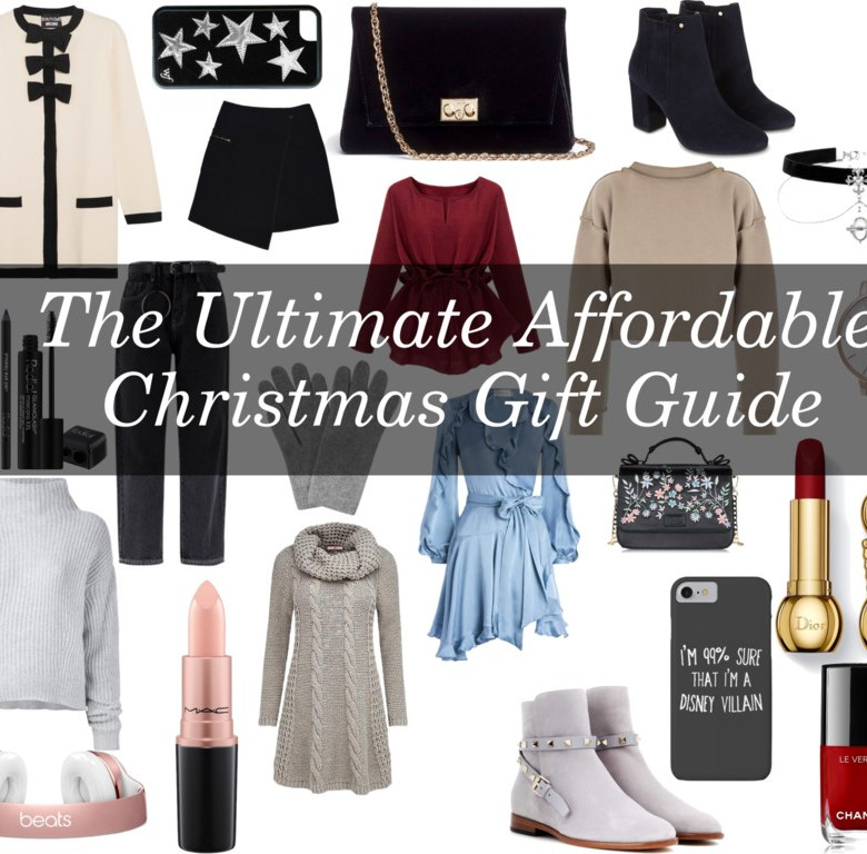 Jordan Taylor C - The Ultimate Affordable Christmas Gift Guide