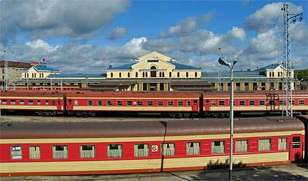 Resa runt i Europa med tåg är spännande