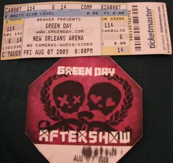 Superdome - GreenDay 2009