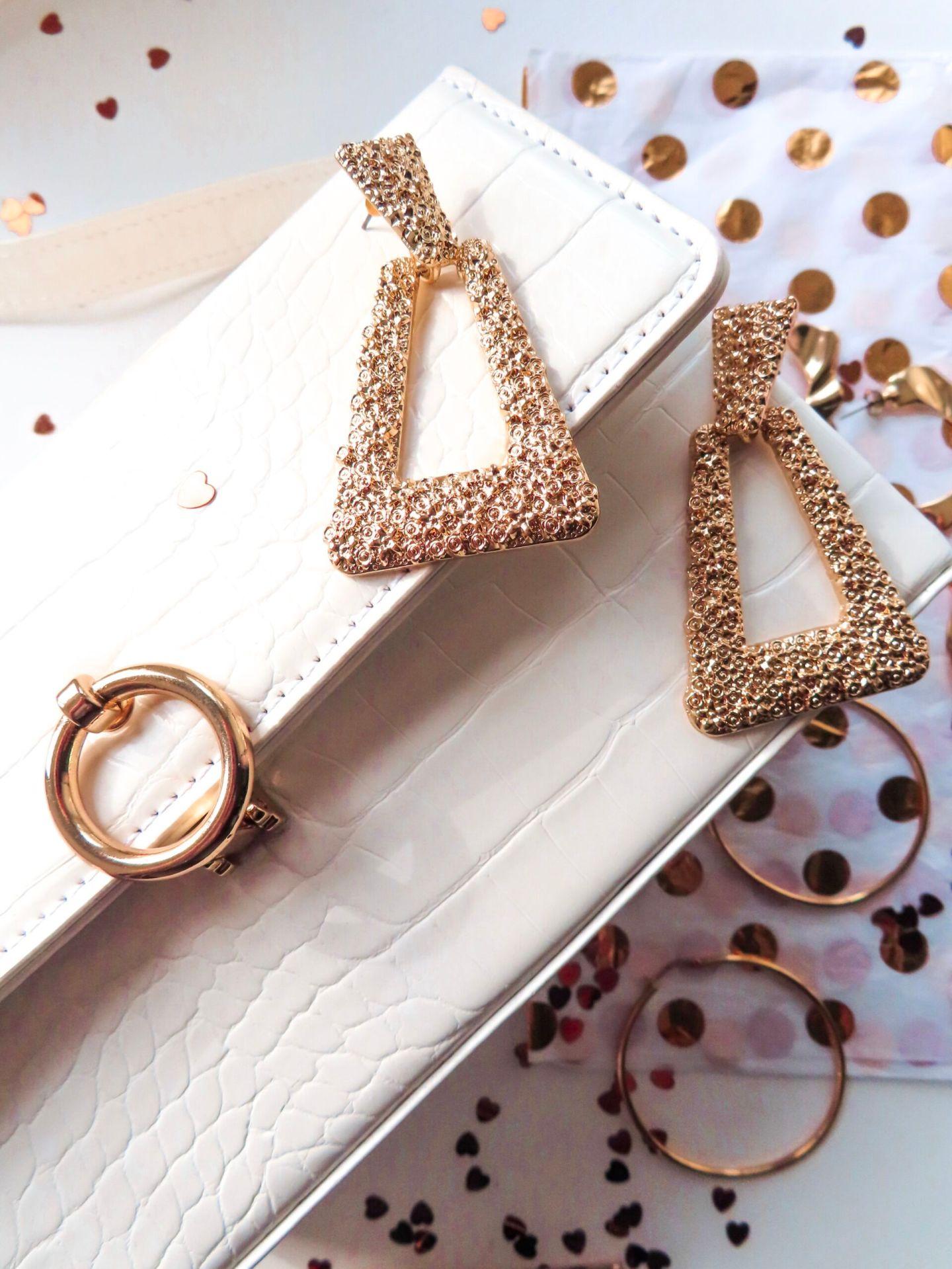 topshop gold accessories