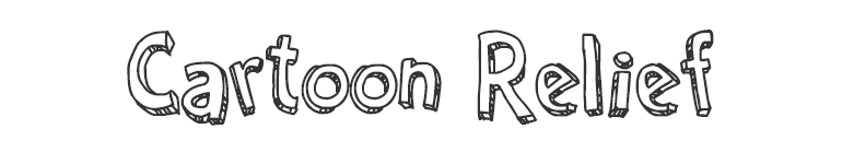 letras chulas para titulos cartoon relief