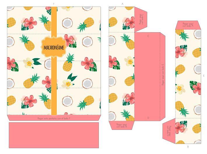 Caja para Macarons diseñada por Sweet Magazine