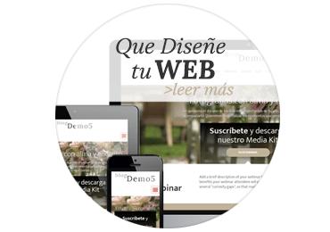 Que Diseñe tu Web y Blog