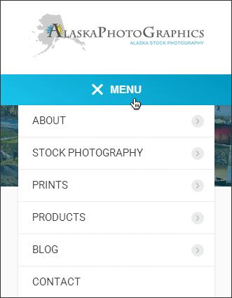 menu responsive wordpress