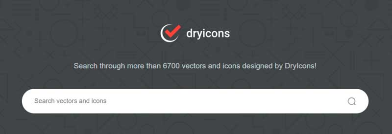 vectores gratis dryicons