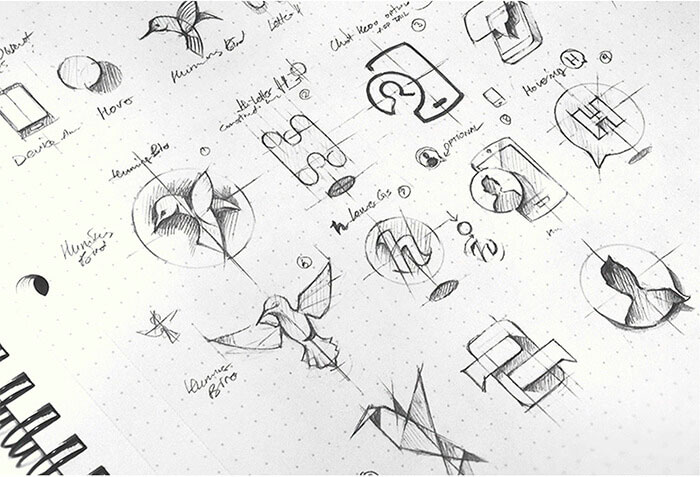 bocetos logotipo