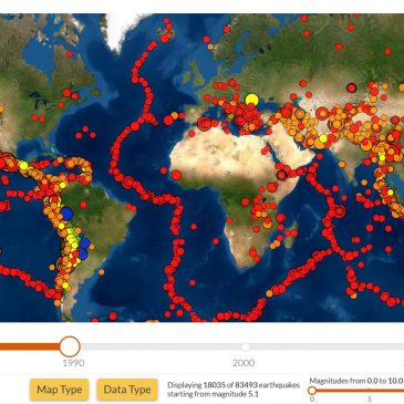 Seismic Explorer: Un mapa sísmico interactivo en tu navegador