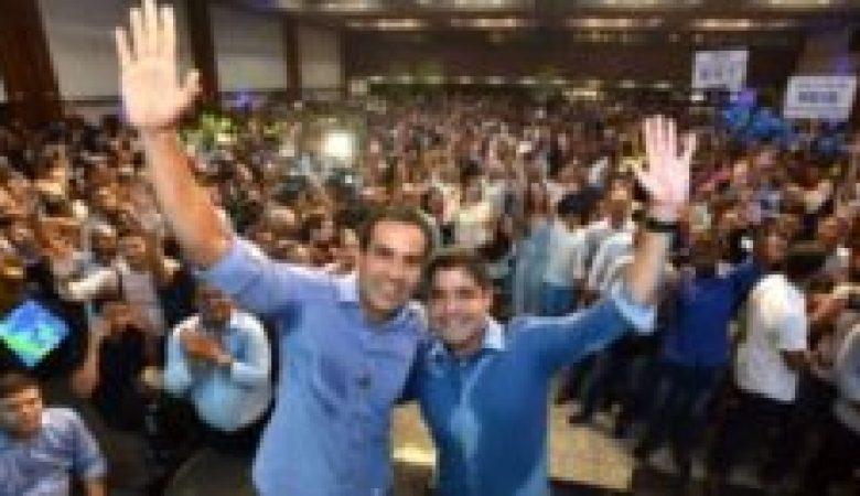 ACM Neto oficializa pré-candidatura de Bruno Reis a prefeito de Salvador