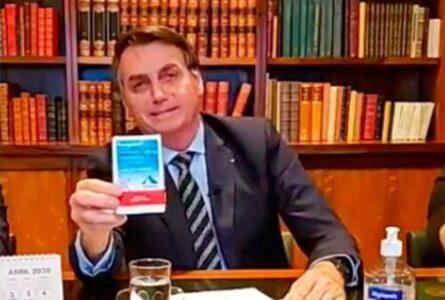 A pressa de Bolsonaro é por motivo político e não pela saúde do povo