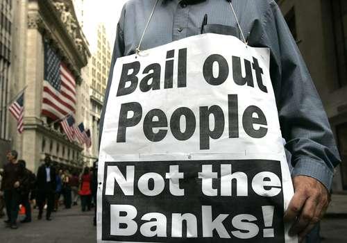 Rescaten a la gente, no a los bancos