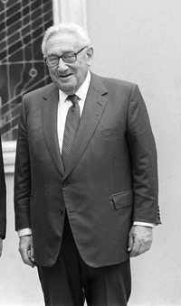 Henry Kissinger, ex jefe de la diplomacia estadunidense