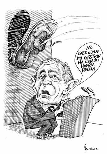 LEGADO DE BUSH. ROCHA, La Jornada.